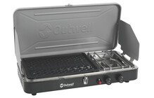 Outwell Chef Cooker Premium 2-Burner Stove & Grill